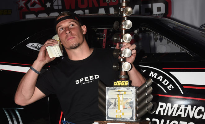 """Alex Laughlin Talks """"Absolute Blast"""" and """"Ultimate Competition"""" at CTECH World Doorslammer Nationals presented by JEGS"""