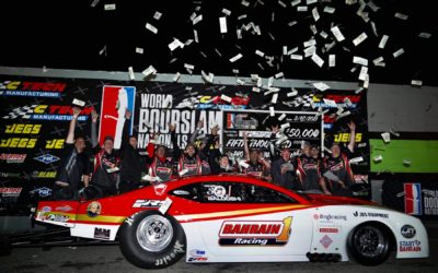 Al-Balooshi's Dominant Weekend Ends with Pro Mod Record, $50,000 Win at CTECH World Doorslammer Nationals