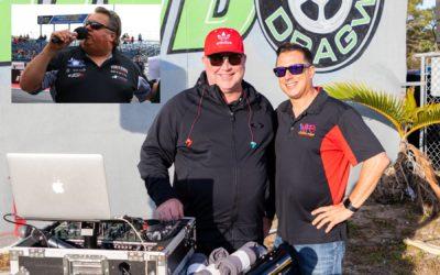 Joe Castello, Al Tucci Named Voices of World Doorslammer Nationals; Jason Logan Returning as Event DJ